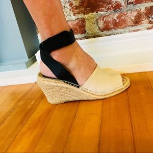 Ann Taylor Loft Espadrilles Size 7 1/2